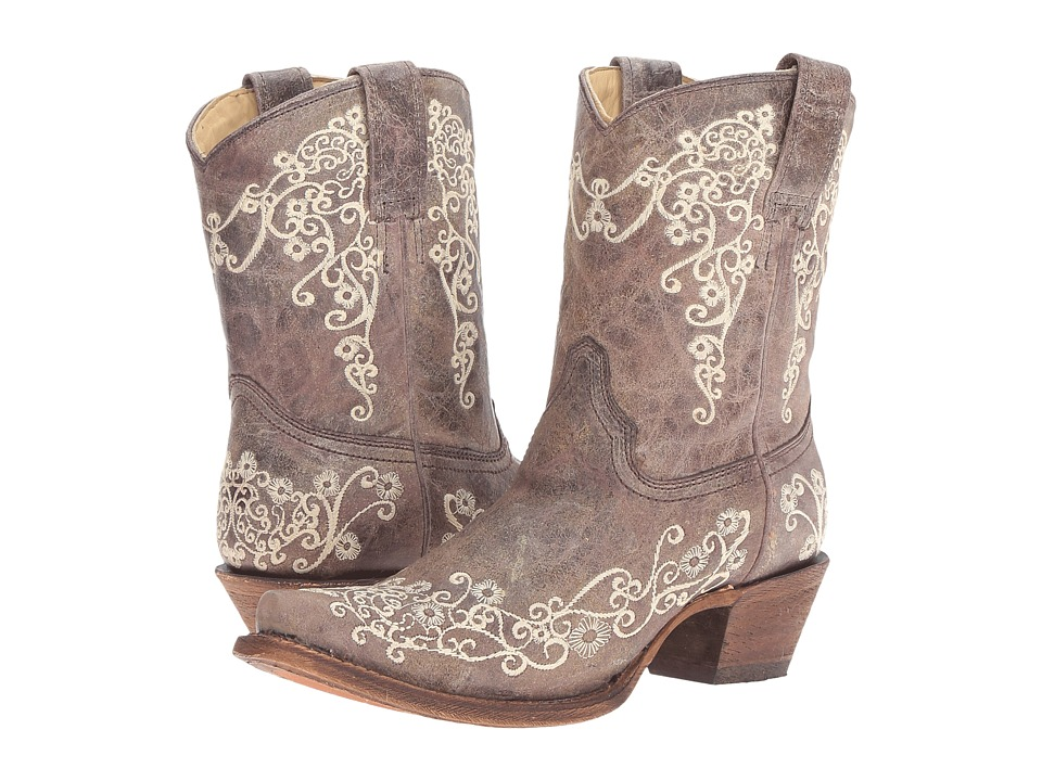 Corral Boots - A3190 (Brown/Crater Bone) Womens Boots