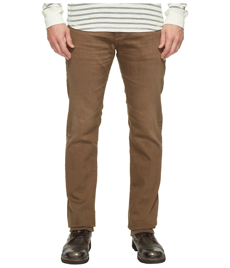 AG Adriano Goldschmied - Matchbox Slim Straight Leg Denim in 2 Years Forest Brown (2 Years Forest Brown) Mens Jeans
