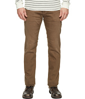AG Adriano Goldschmied - Matchbox Slim Straight Leg Denim in 2 Years Forest Brown