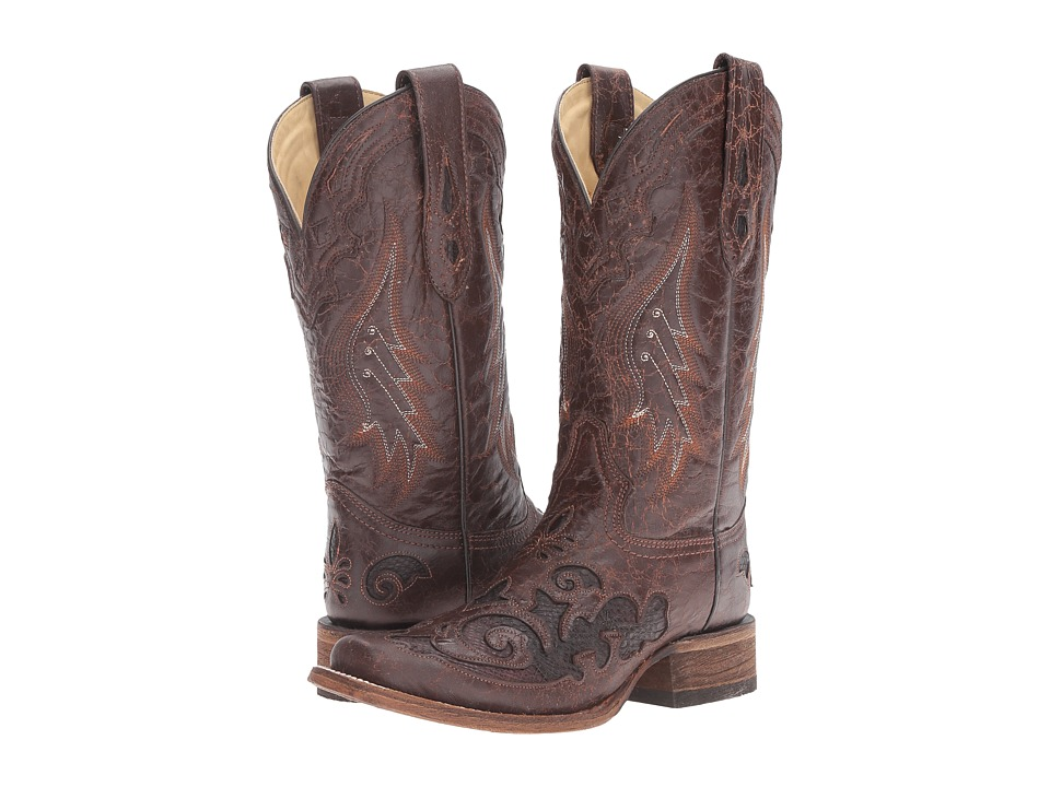 Corral Boots A2404 (Brown/Chocolate) Women