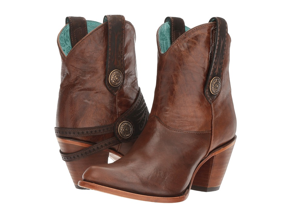 Corral Boots - C2907 (Tan) Womens Boots