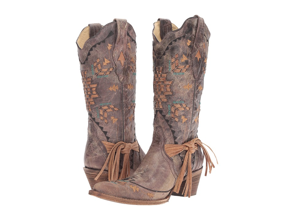 Corral Boots - A2992 (Cognac/Tobacco) Womens Boots