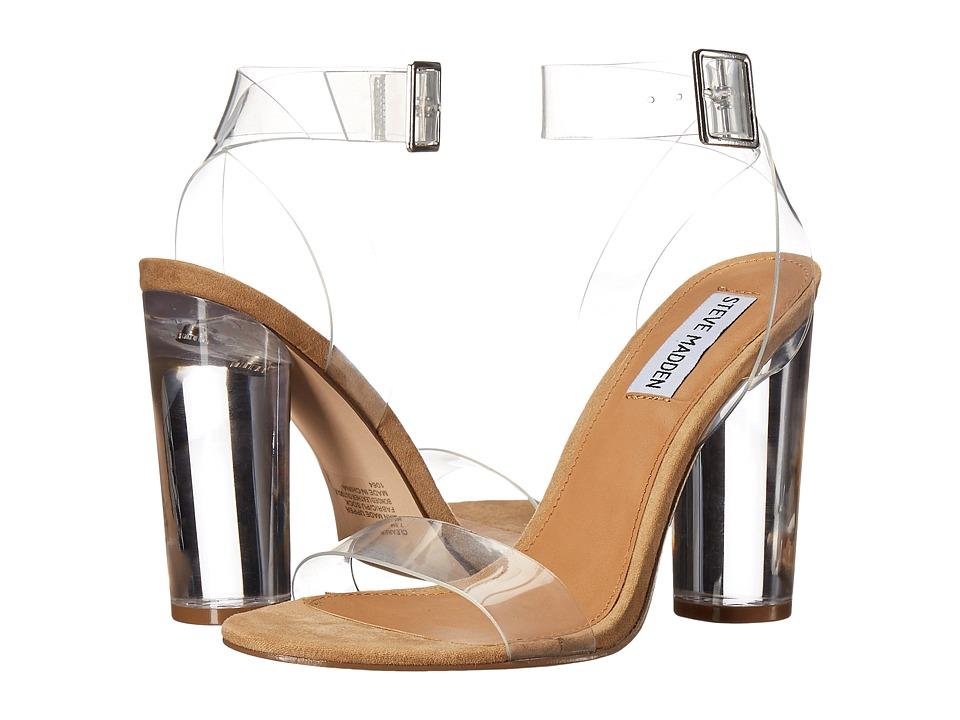 Steve Madden Clearer (Clear) Women's Shoes