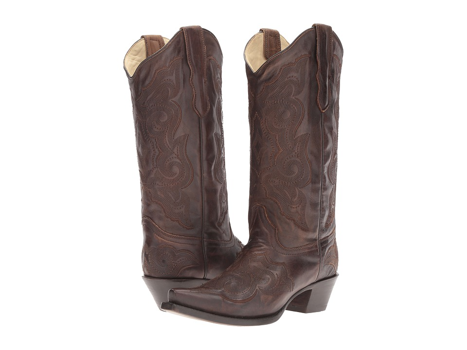 Corral Boots - E1005 (Brown) Womens Boots