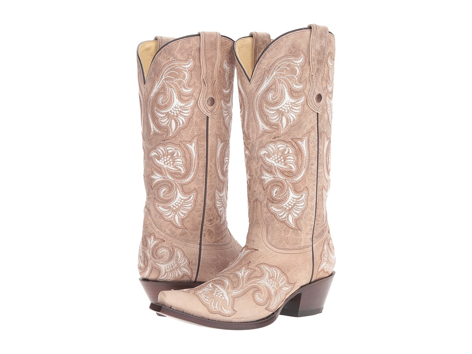 Corral Boots - G1086 (Bone) Womens Boots