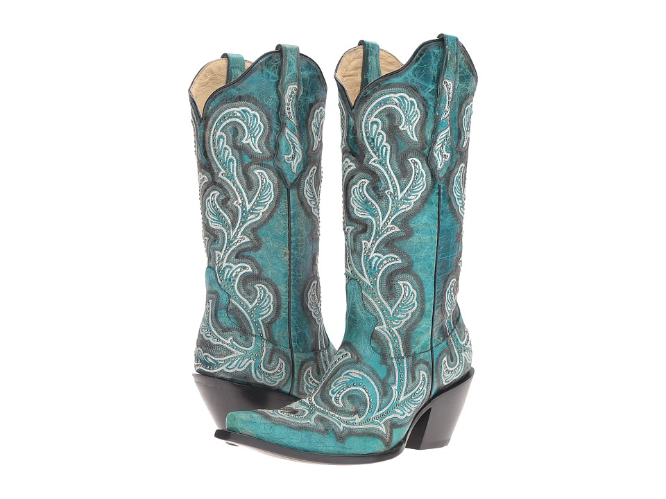 Corral Boots G1249 (Turquoise) Women