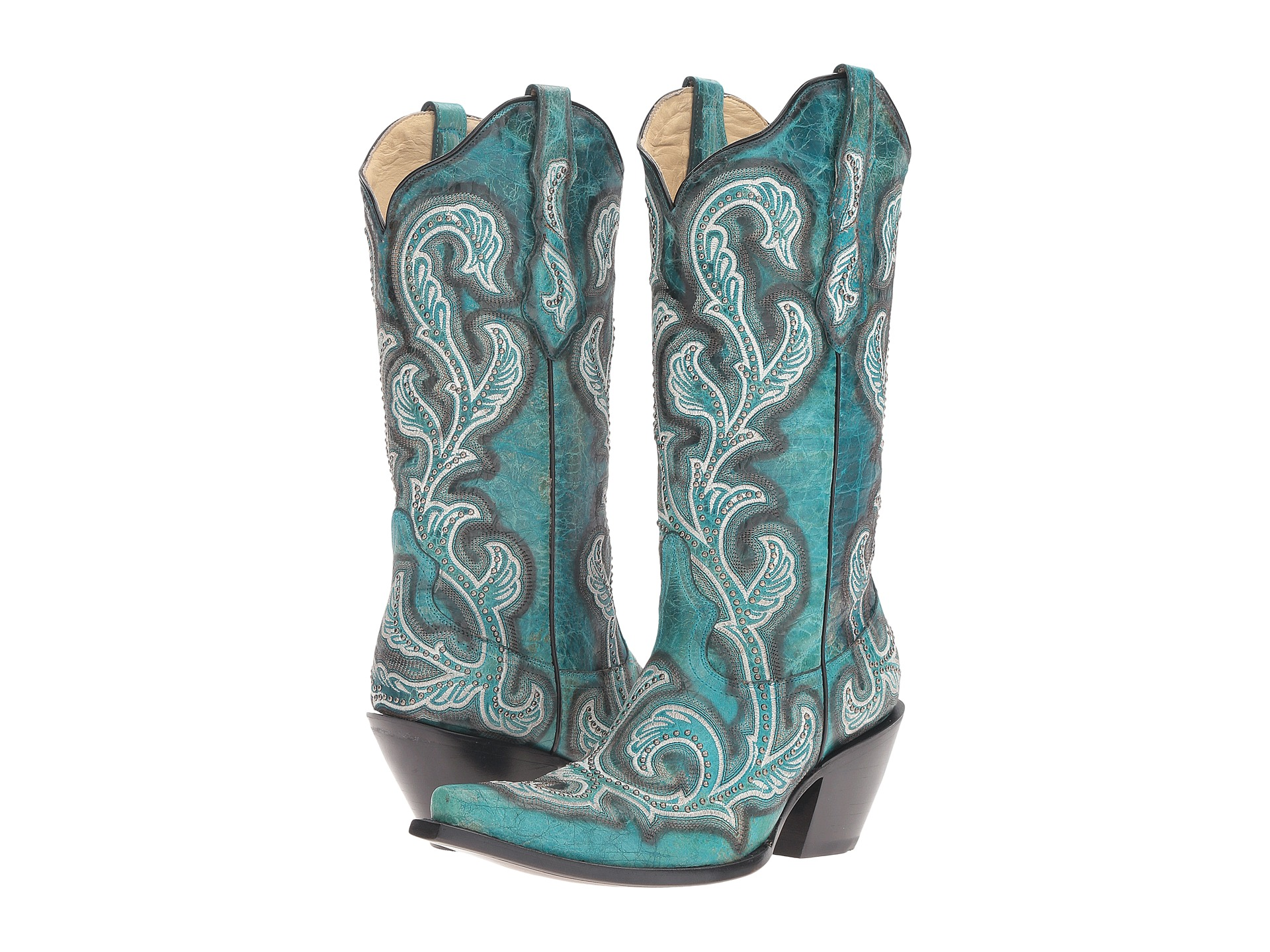 Boots, Cowboy Boots, Blue, Women | Shipped Free at Zappos