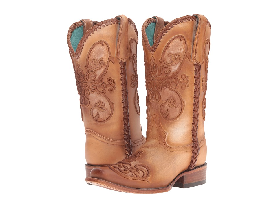 Corral Boots - C2980 (Tan) Womens Boots