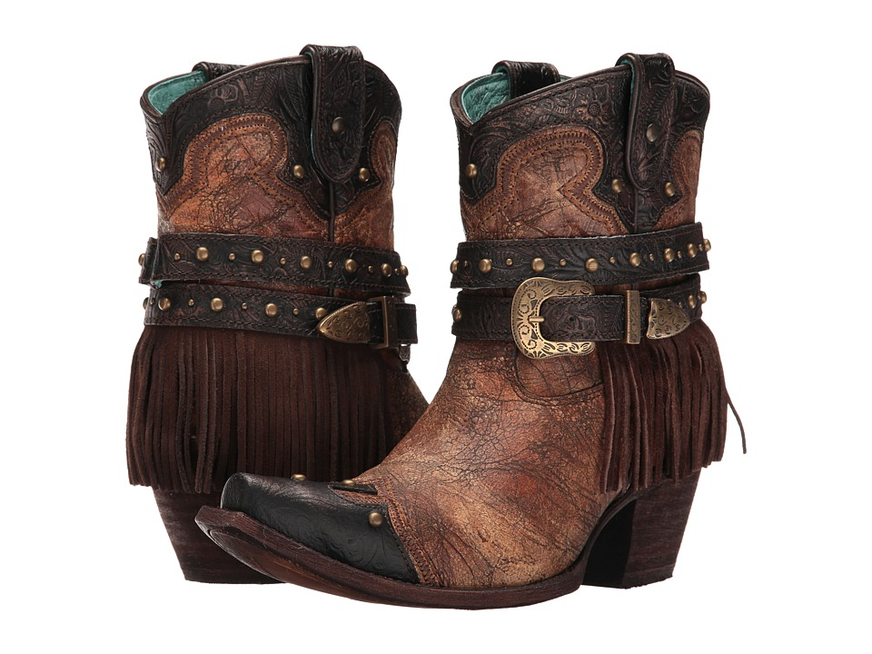 Corral Boots C2880 (Metallic/Cognac) Women