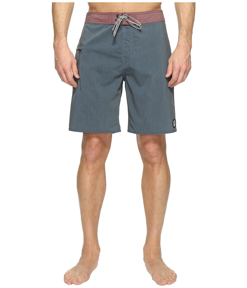 Captain Fin - Dolphin Solid Boardshorts