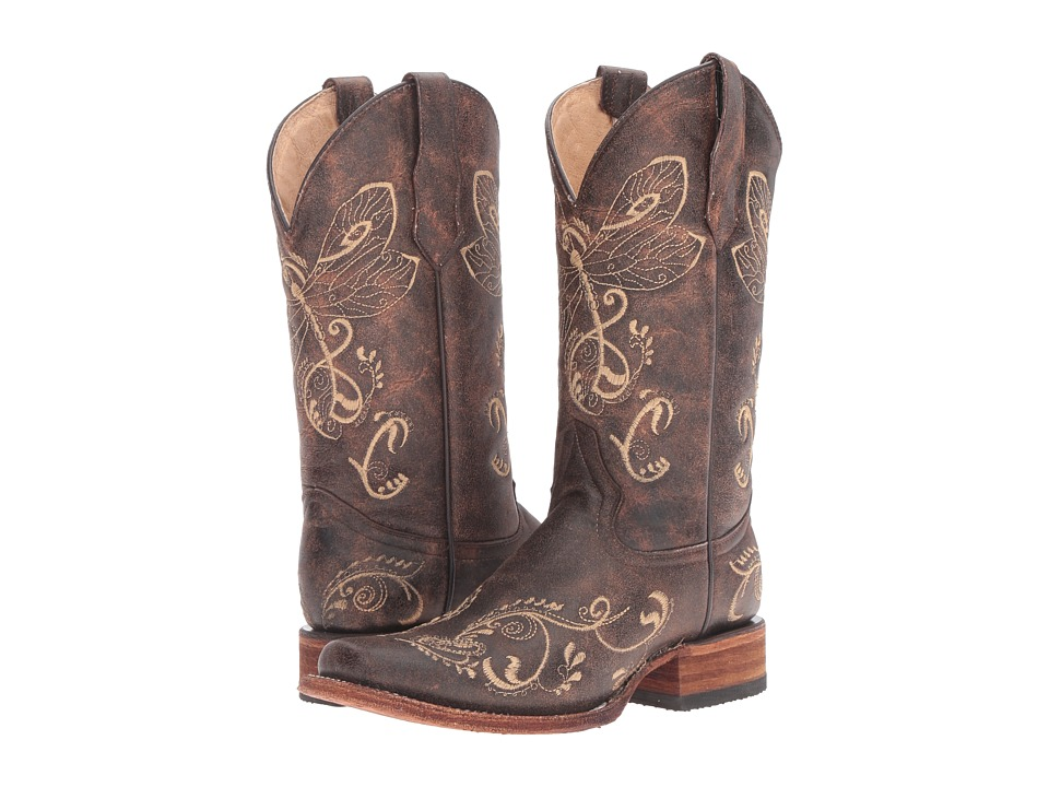 Corral Boots - L5079 (Brown/Bone) Womens Boots