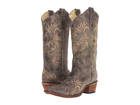 Corral Boots L5133 - Green/Beige