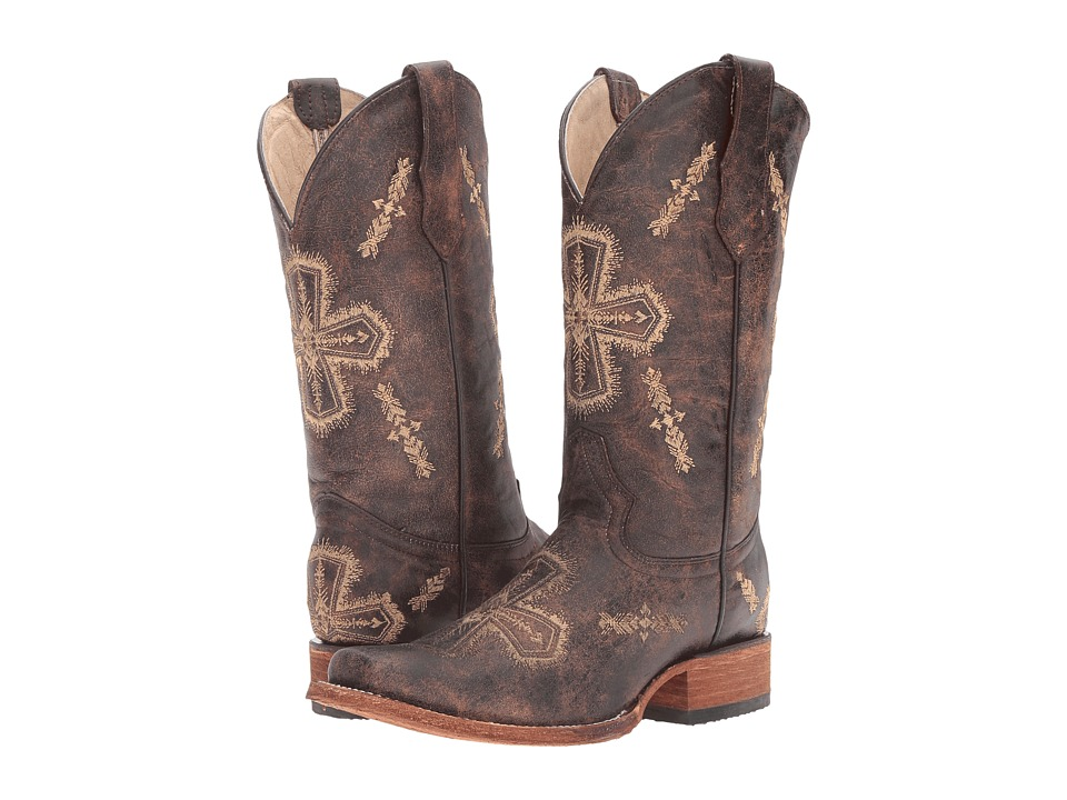 Corral Boots - L5195 (Brown/Bone) Womens Boots
