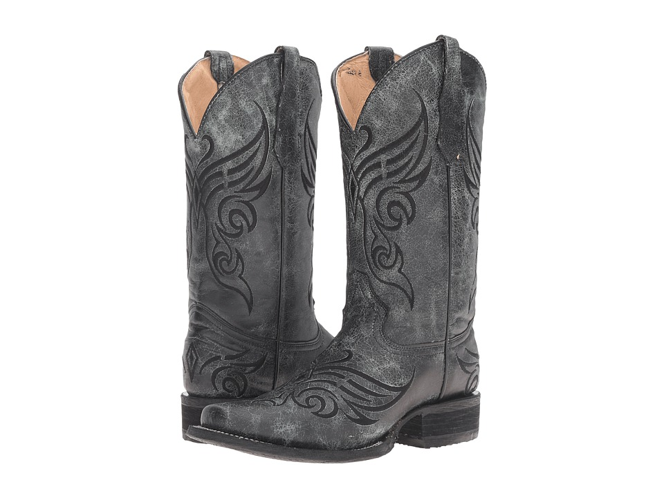 Corral Boots - L5155 (Black) Womens Boots