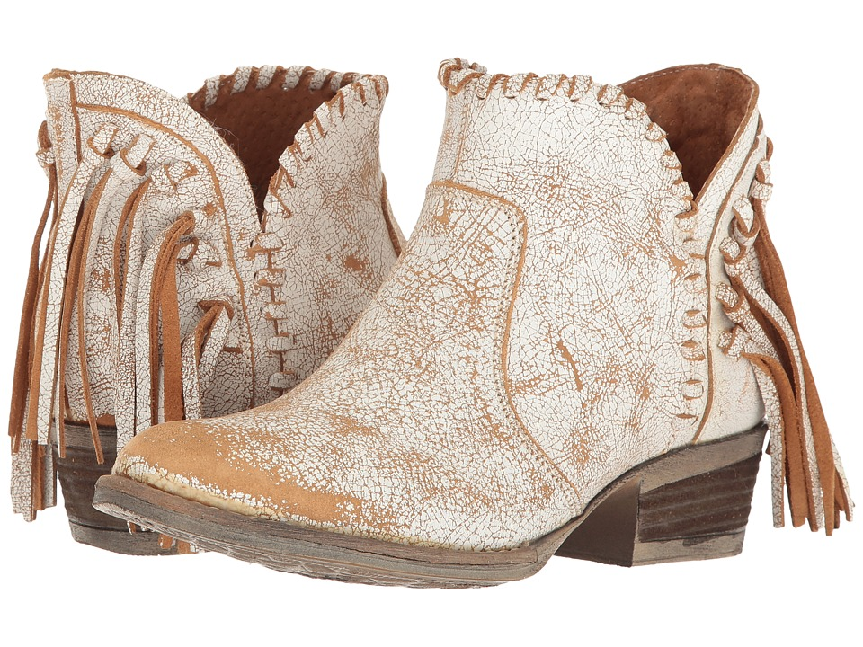 Corral Boots - Q0004 (Tan/White) Womens Boots