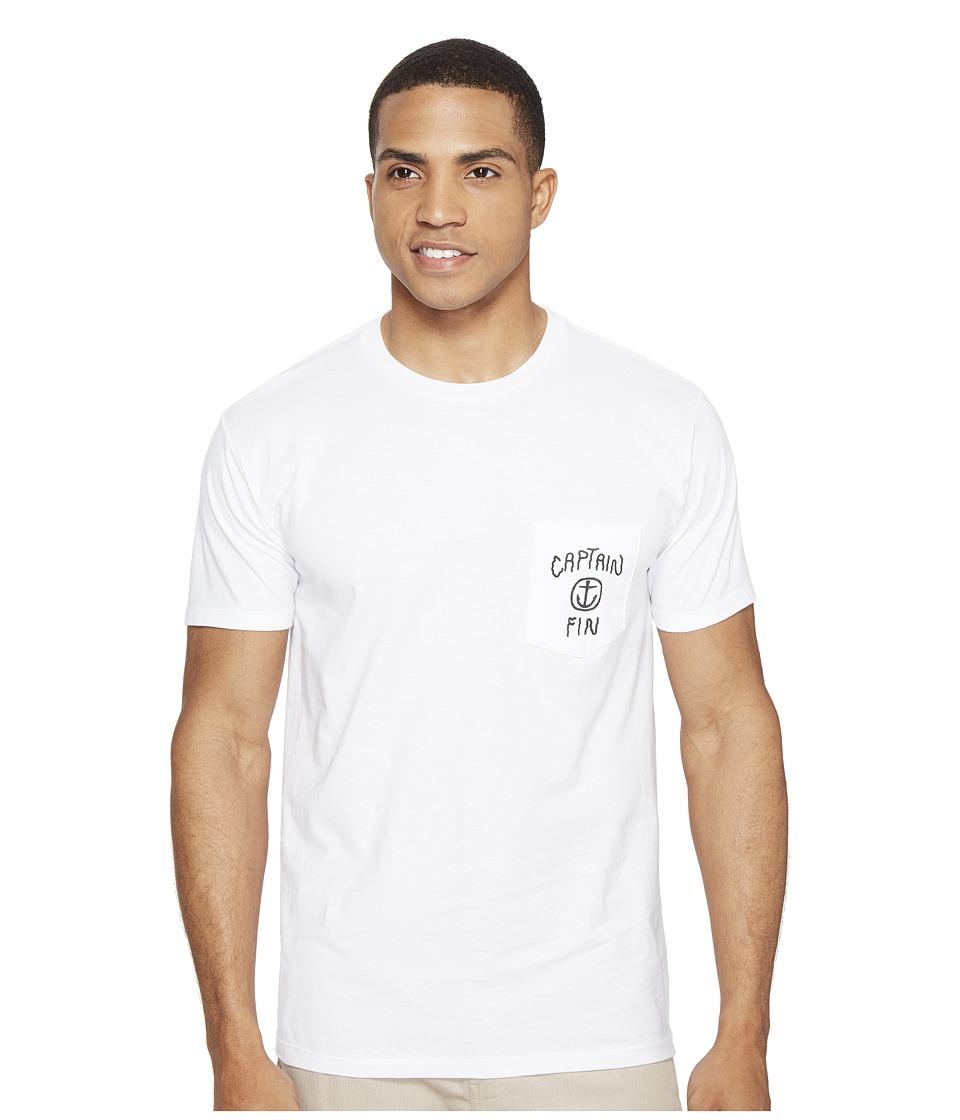Captain Fin - Water World Pocket T-Shirt