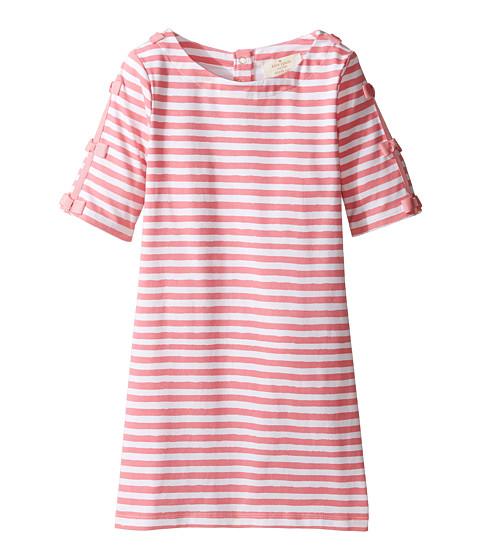 Kate Spade New York Kids Bow Sleeve Shift Dress (Toddler/Little Kids)