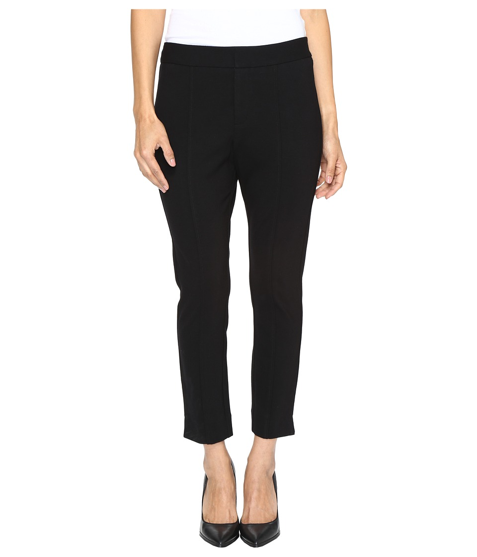 NYDJ Petite - Petite Ankle Pants in Black (Black) Womens Casual Pants