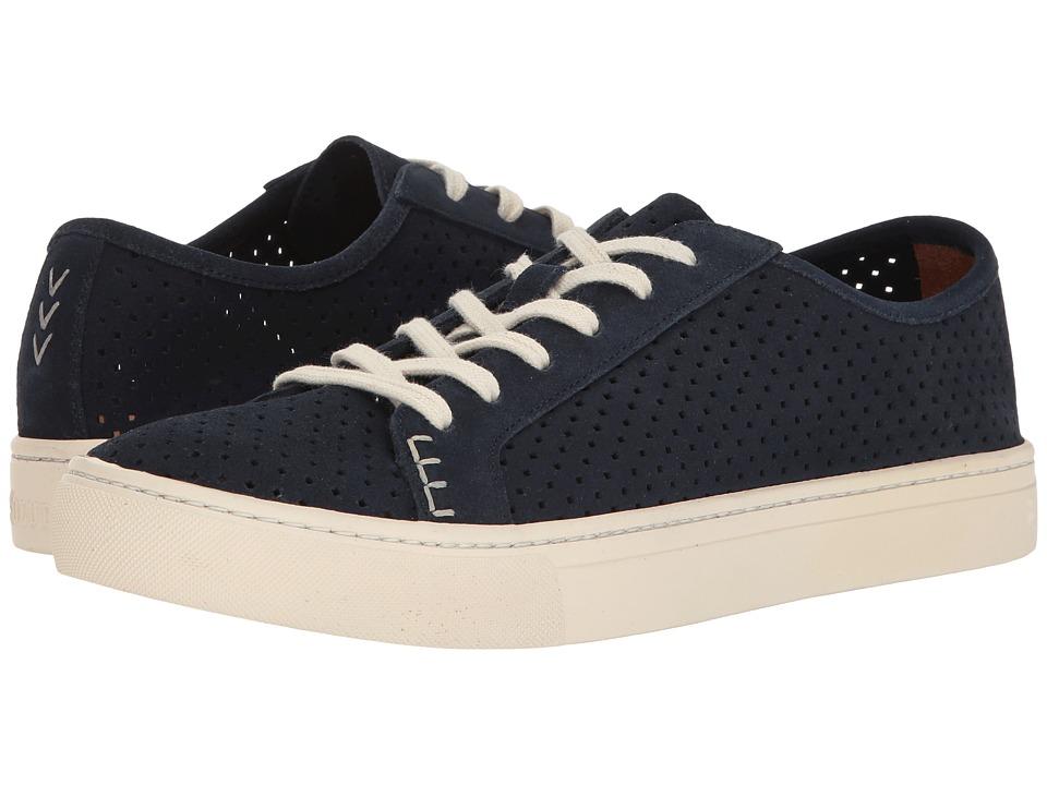 Soludos Perforated Tennis Sneaker (Midnight) Men
