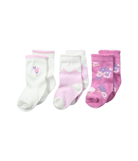 Kate Spade New York Kids 3-Pack Socks Set (Infant)