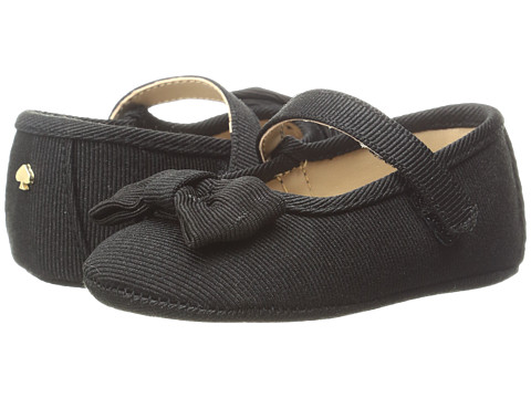 Kate Spade New York Kids Mary Jane with Bow (Infant/Toddler) - Black