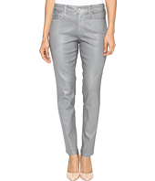 NYDJ Petite - Petite Ami Skinny Leggings in Platinum Shimmer Coated