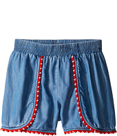 Kate Spade New York Kids - Pom Trim Shorts (Big Kids)