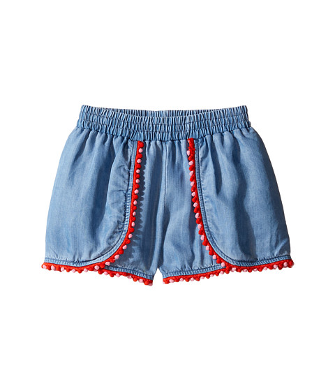 Kate Spade New York Kids Pom Trim Shorts (Toddler/Little Kids)