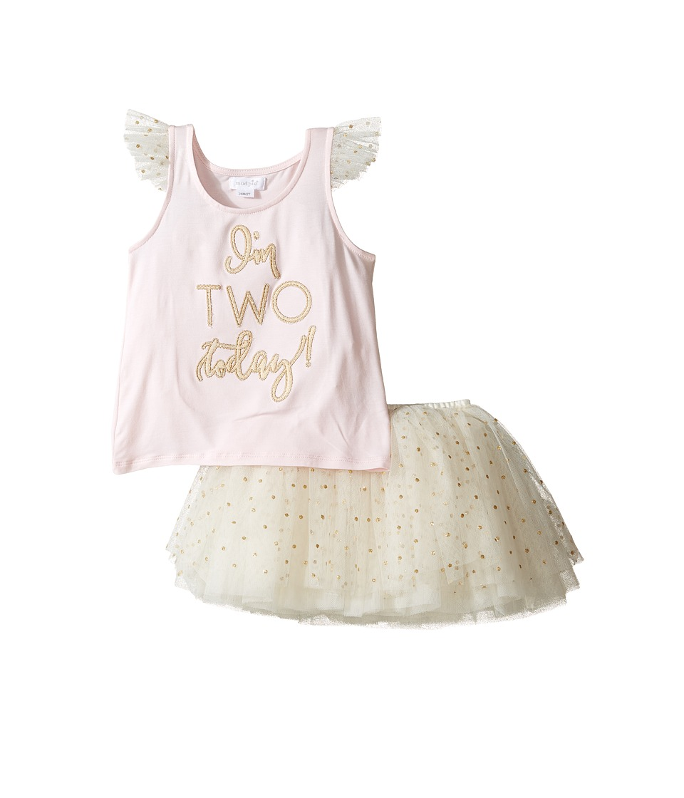 Mud Pie - Two Tutu Skirt Set (Toddler) (Pink) Girl's Acti...
