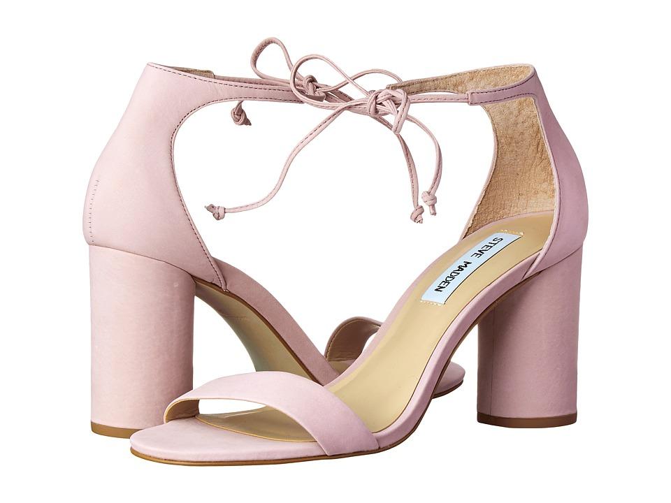 Steve Madden-Shays  (Pink Nubuck) High Heels