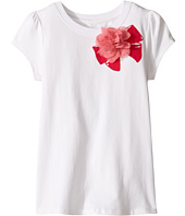 Kate Spade New York Kids - Ruffle Back Tee (Little Kids/Big Kids)