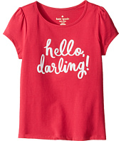 Kate Spade New York Kids - Hello Darling Tee (Toddler/Little Kids)