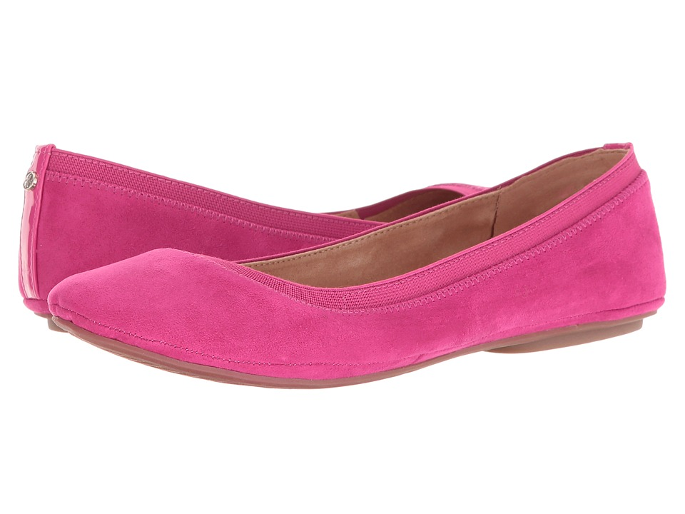 Bandolino Edition (Hot Pink Multi Faux Suede/Super Soft Patent Synthetic/Sleek Elas) Women