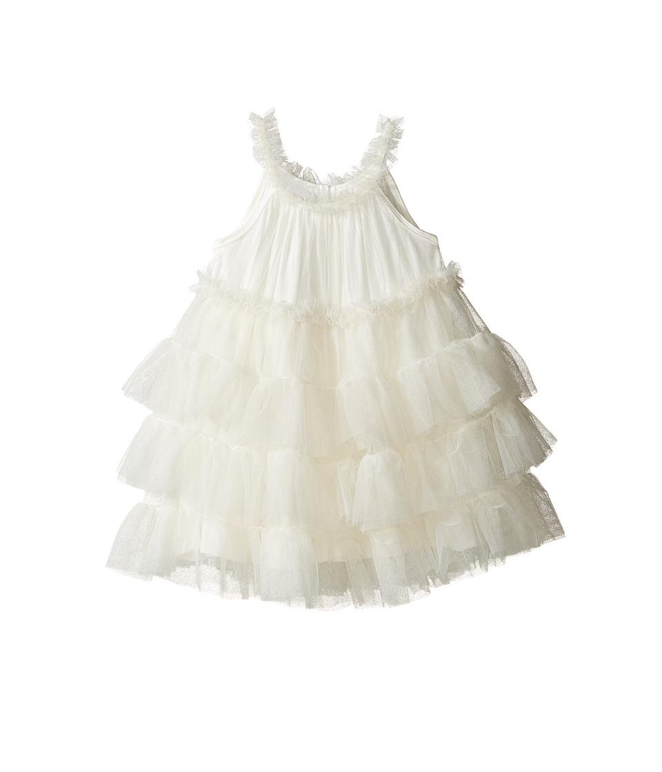 Mud Pie - Ivory Mesh Dress