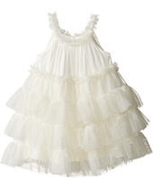 Mud Pie - Ivory Mesh Dress (Infant)
