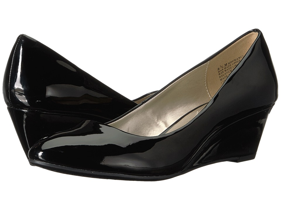 Bandolino Franci (Black Patent Super Soft Patent Synthetic) Women