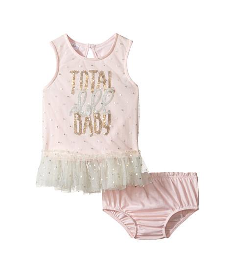 Mud Pie Doll Baby Dress Bloomer Set (Infant)