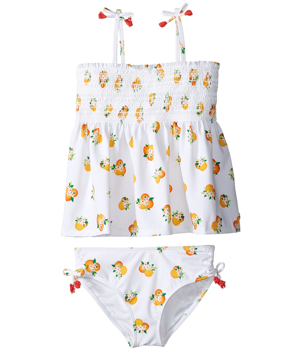 Kate Spade New York Kids Two-Piece Swimsuit (Big Kids) (Orangerie) Girl