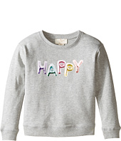 Kate Spade New York Kids - Happy Sweatshirt (Toddler/Little Kids)
