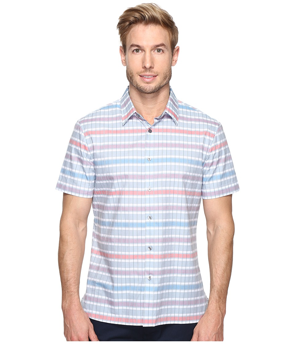 Shiloh horizontal stripe shirt for Horizontal striped dress shirts men