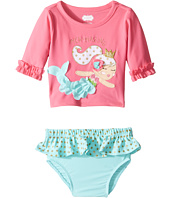 Mud Pie - Mermaid Rashguard Bikini Set (Infant)