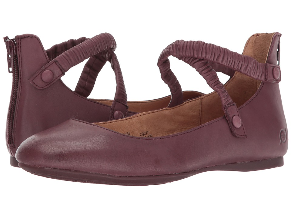 Born Leif (Burgundy Full Grain Leather) Women