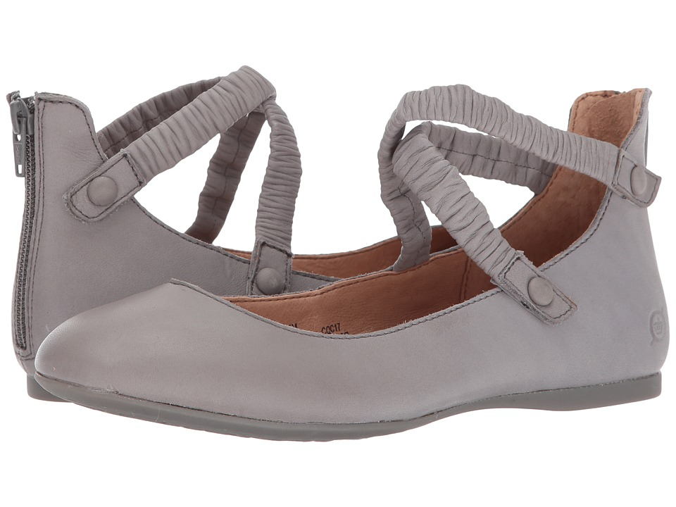 Born Leif (Grey Full Grain Leather) Women