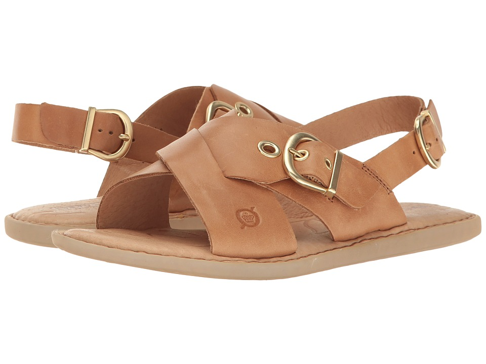 Born Frans (Light Brown Full Grain Leather) Women