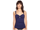 Tommy Bahama - Pearl Over-The-Shoulder Shirred Tankini