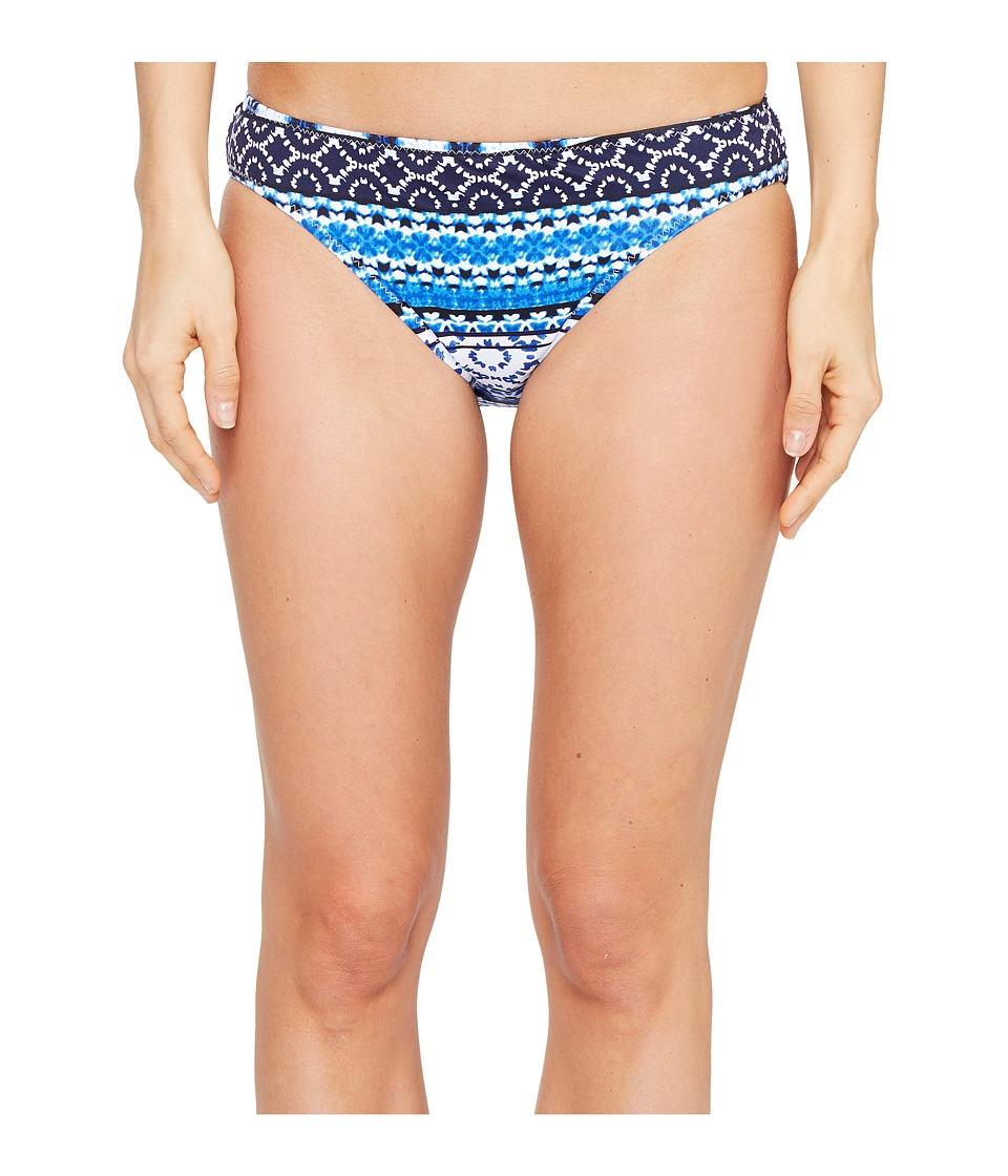 Tommy Bahama Shibori Splash Reversible Hipster Bikini Bottom (Plunge Blue)