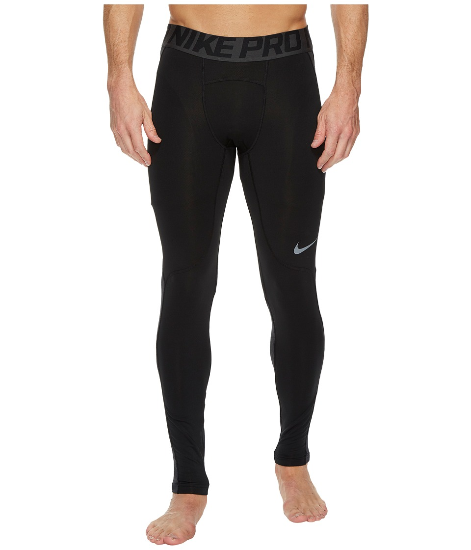 Nike Pro Hyperwarm Training Tight (Black/Cool Grey/Cool Grey) Men