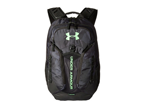 Under Armour UA Contender Backpack - Stealth Gray/Black/Quirky Lime