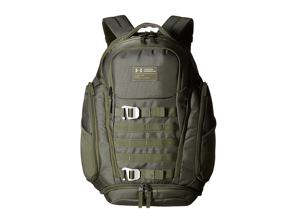 Under Armour - UA Huey (Downtown Green/Downtown Green/Downtown Green) Backpack Bags