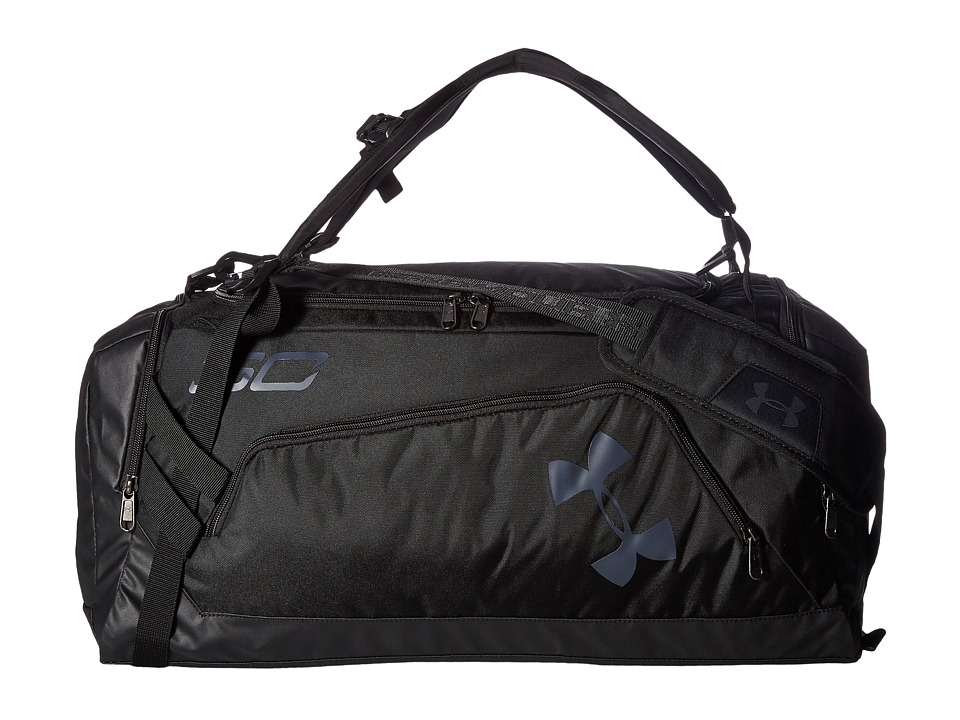 Under Armour - UA SC30 Backpack Duffel (Black/Black/Stealth Gray) Backpack Bags